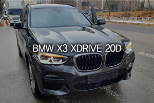 BMW X3 20d xDrive M Sport 리스 출고