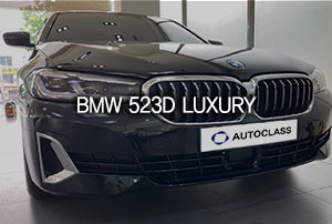 BMW 523d Luxury 출고
