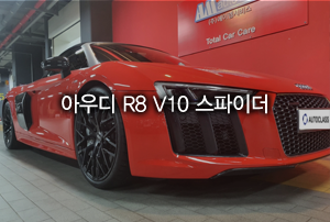 드림카 2020 아우디 R8 V10 스파이더 리스